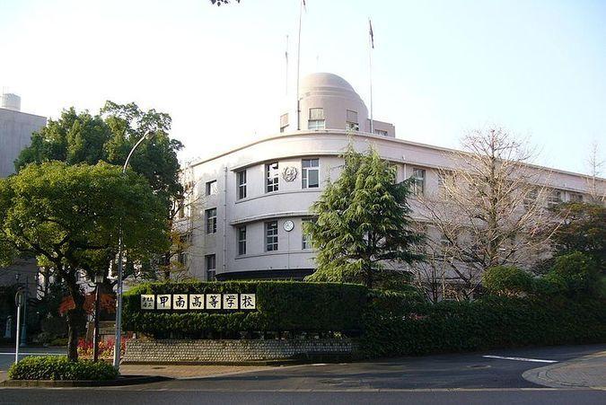 甲南高等学校外観画像