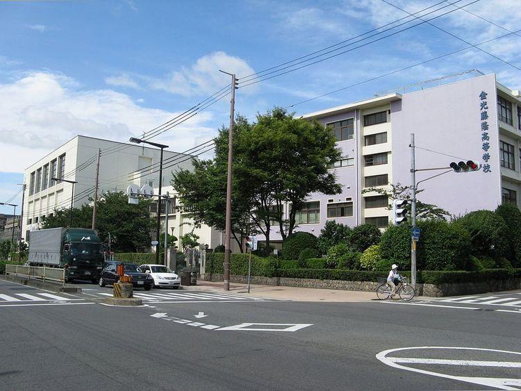 金光藤蔭高等学校画像
