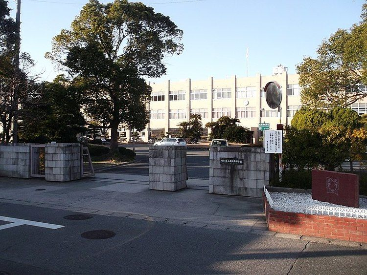 半田高等学校画像