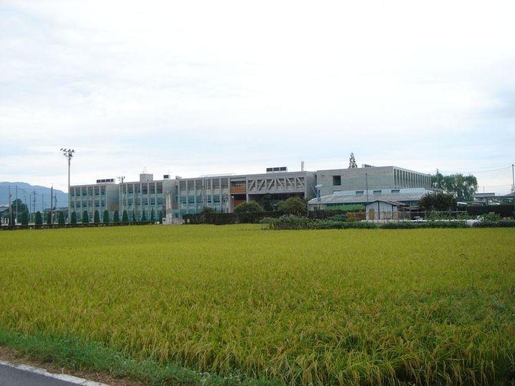 海津明誠高等学校画像