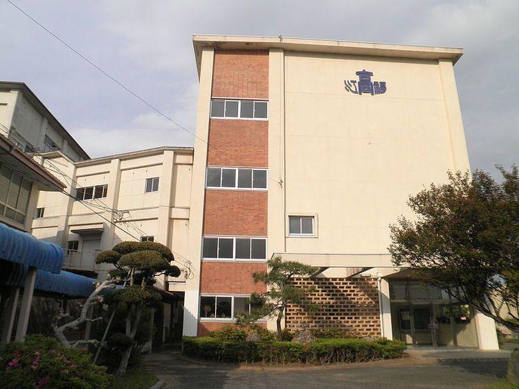 福江高等学校画像