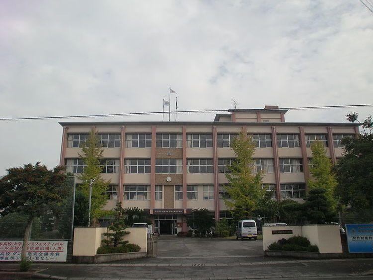霧島市立国分中央高等学校画像