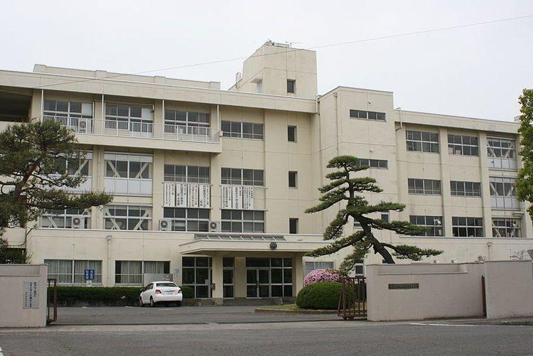 西邑楽高等学校画像