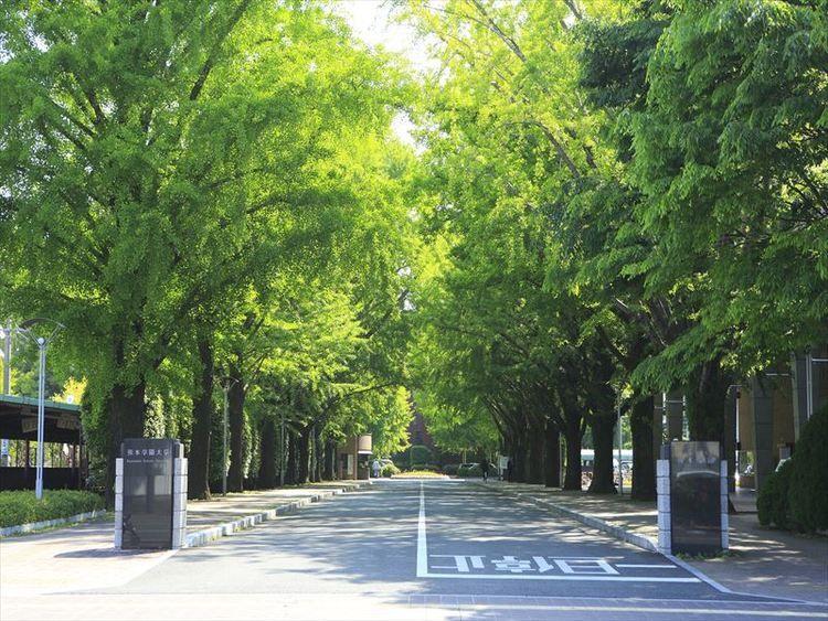 熊本学園大学画像