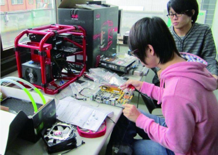札幌科学技術専門学校画像