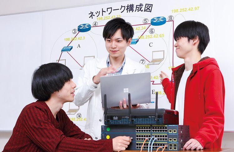 東北電子専門学校画像
