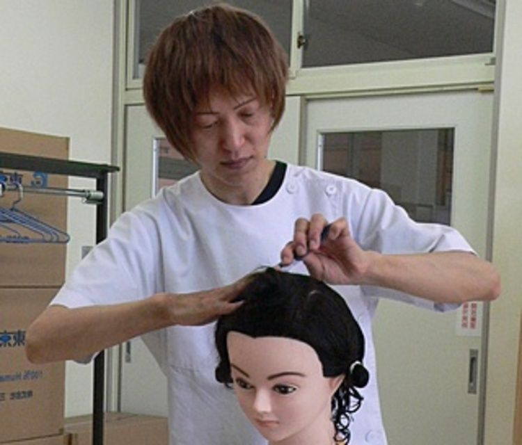 福島県高等理容美容学院画像