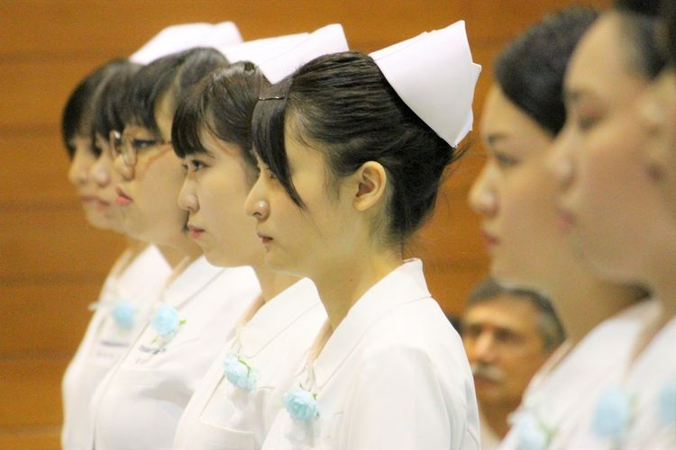 茨城県結城看護専門学校画像