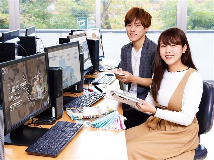 船橋情報ビジネス専門学校画像