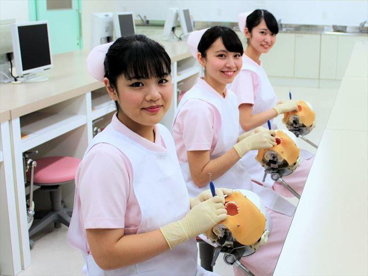 北原学院歯科衛生専門学校画像