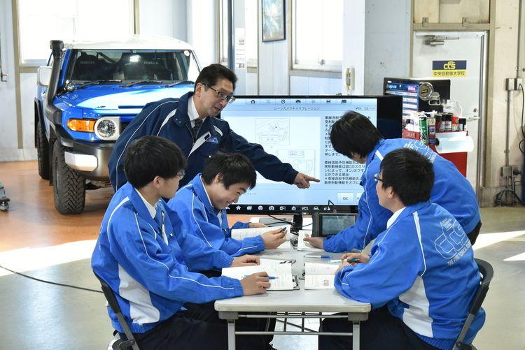 専門学校中央自動車大学校画像