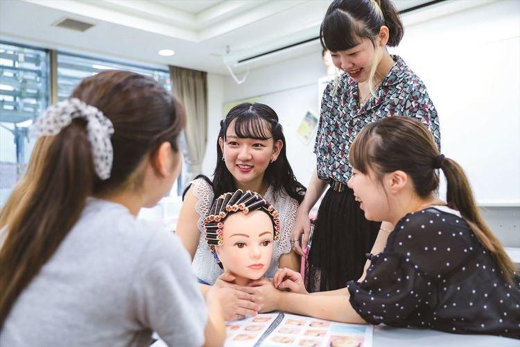 東京ビューティーアート専門学校画像
