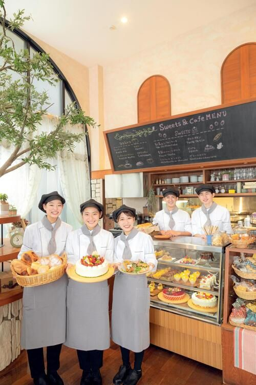 東京スイーツ&カフェ専門学校画像