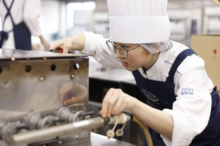 日本菓子専門学校画像