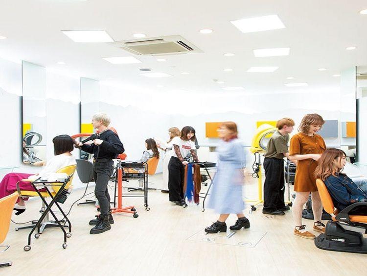 東京文化美容専門学校画像