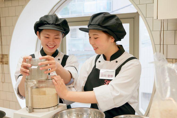 横浜スイーツ&カフェ専門学校画像