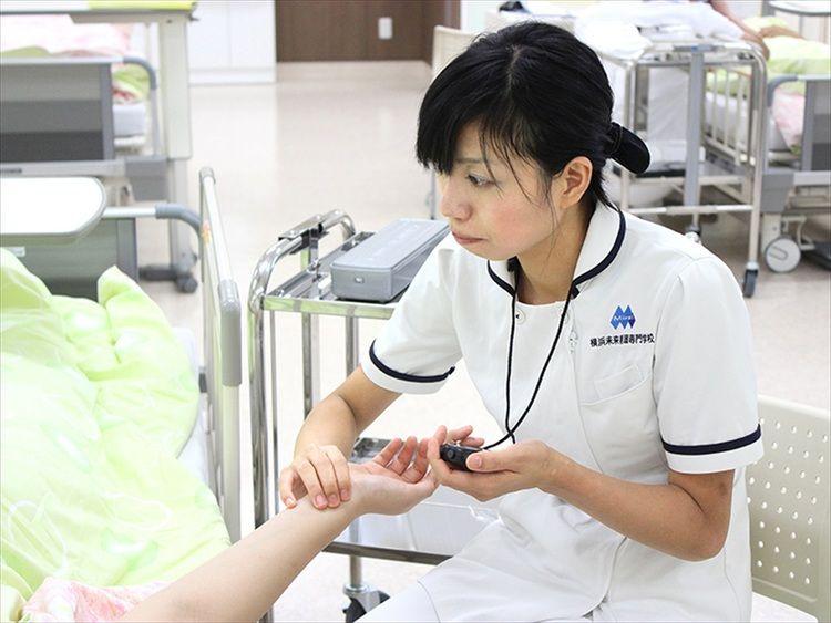 横浜未来看護専門学校画像