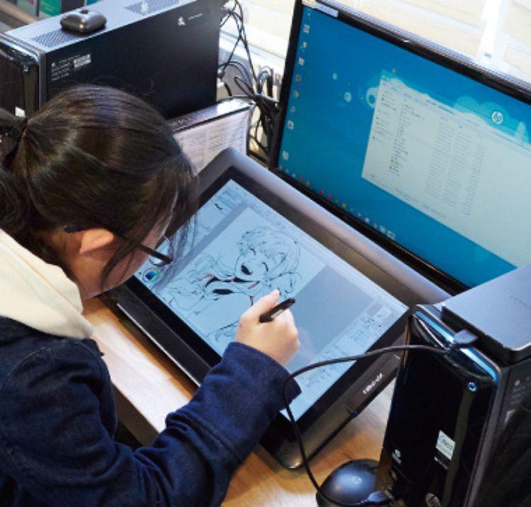 日本マンガ芸術学院画像