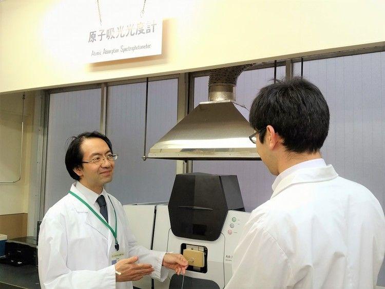 日本分析化学専門学校画像