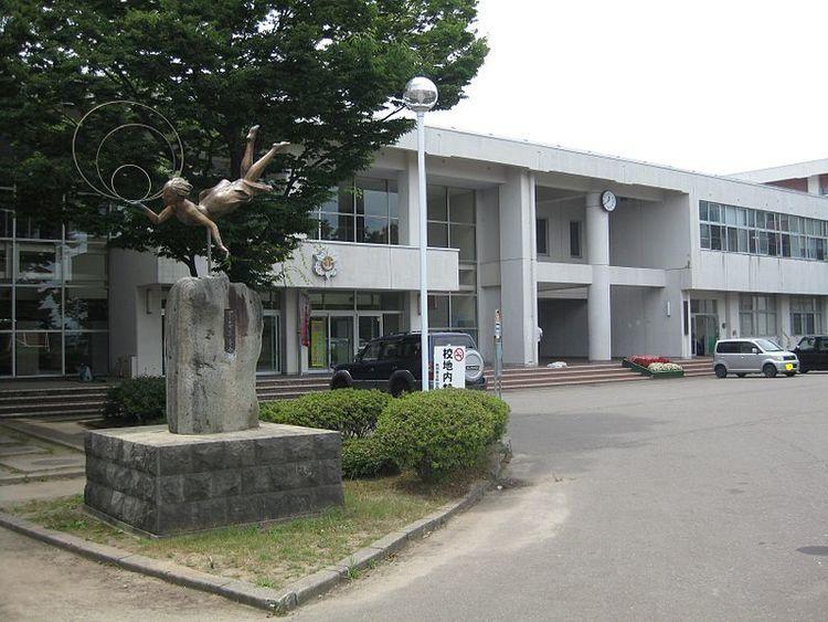 秋田西高等学校画像