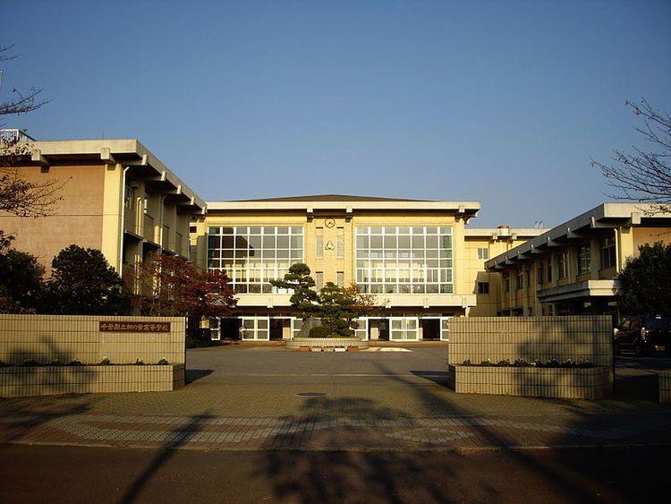 柏の葉高等学校画像