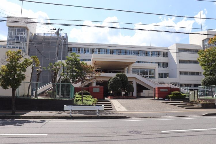 千葉市立稲毛高等学校画像