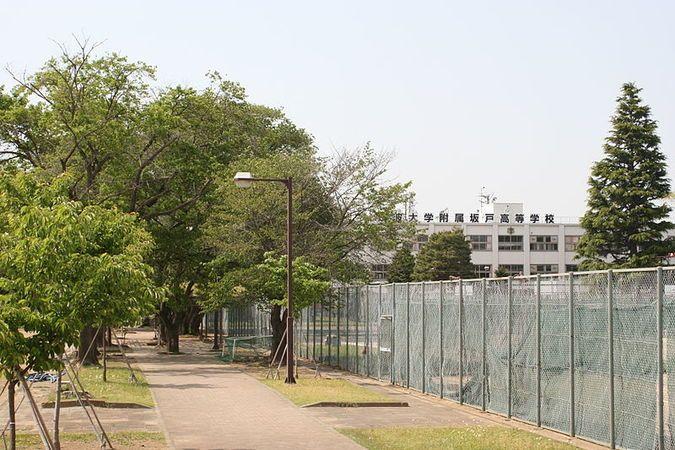 筑波大学附属坂戸高等学校外観画像