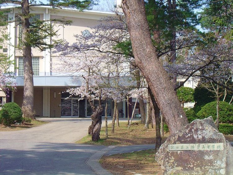 横手高等学校画像