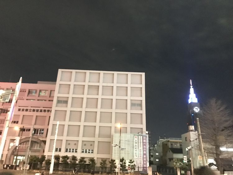 新宿高等学校画像