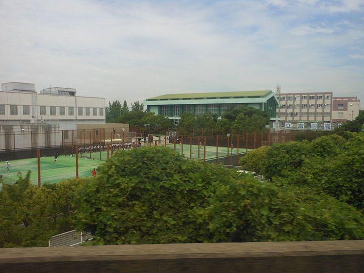 名古屋市立富田高等学校画像