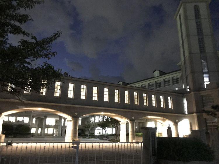 長田高等学校画像