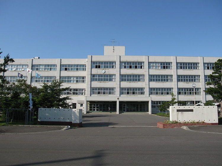 岩見沢東高等学校画像