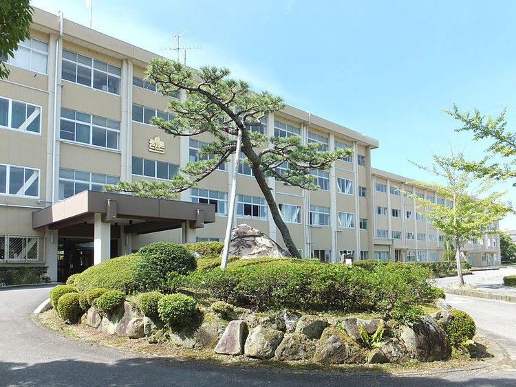 岡崎東高等学校画像