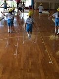 盛岡白百合学園幼稚園授業風景画像