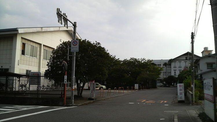 大分上野丘高等学校画像