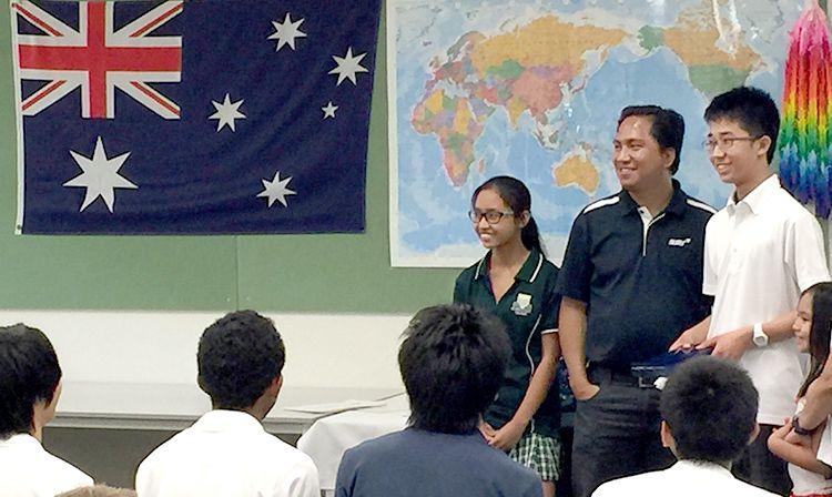 オーストラリア中学
